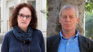Empar Fernández y Pablo Bonell, maestros y escritores.