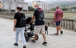 Lugo suma gairebé tants nous contagis com els que es desactiven a la resta de Galícia