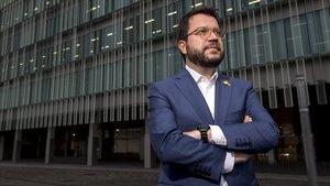 Pere Aragonès: «Aquest any, la caiguda del PIB a Catalunya serà del 10%»