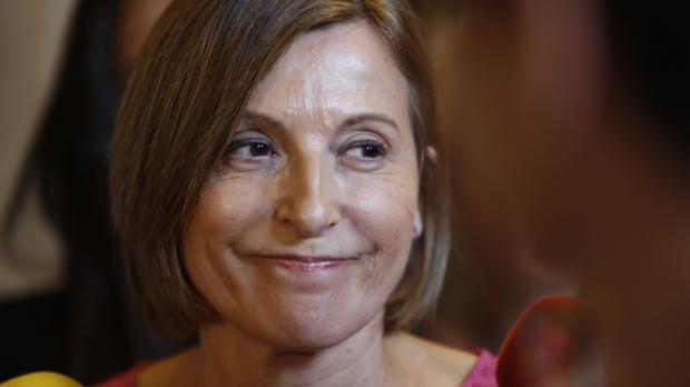 Forcadell anuncia que el Parlament aplaza la tramitación de la Ley del referéndum