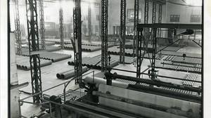 La fabrica de Uralita en Cerdanyola del Vallès, a principios de los años 80.