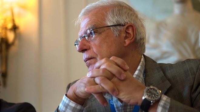 Borrell afirma que la crisi migratòria té Europa «oberta en canal»
