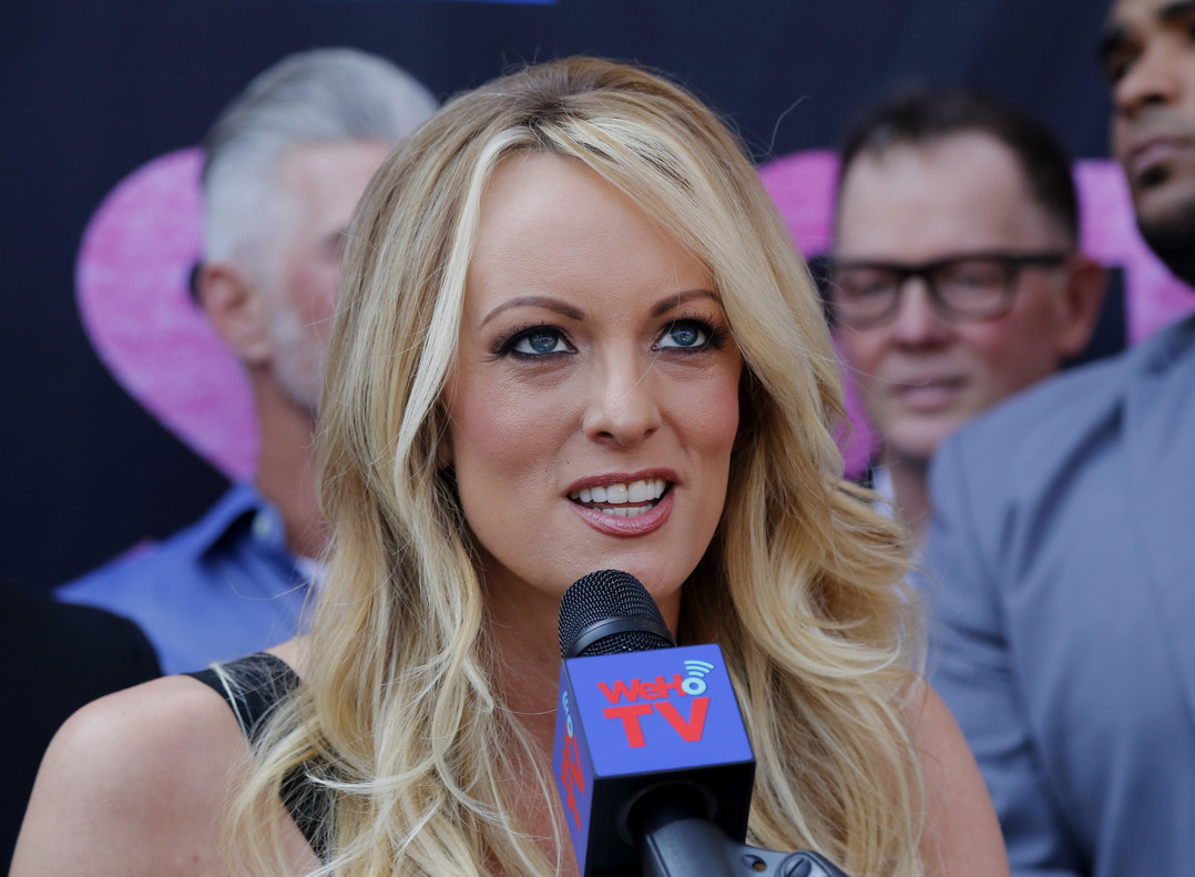 Stormy Daniels, arrestada en un club de 'striptease' d'Ohio