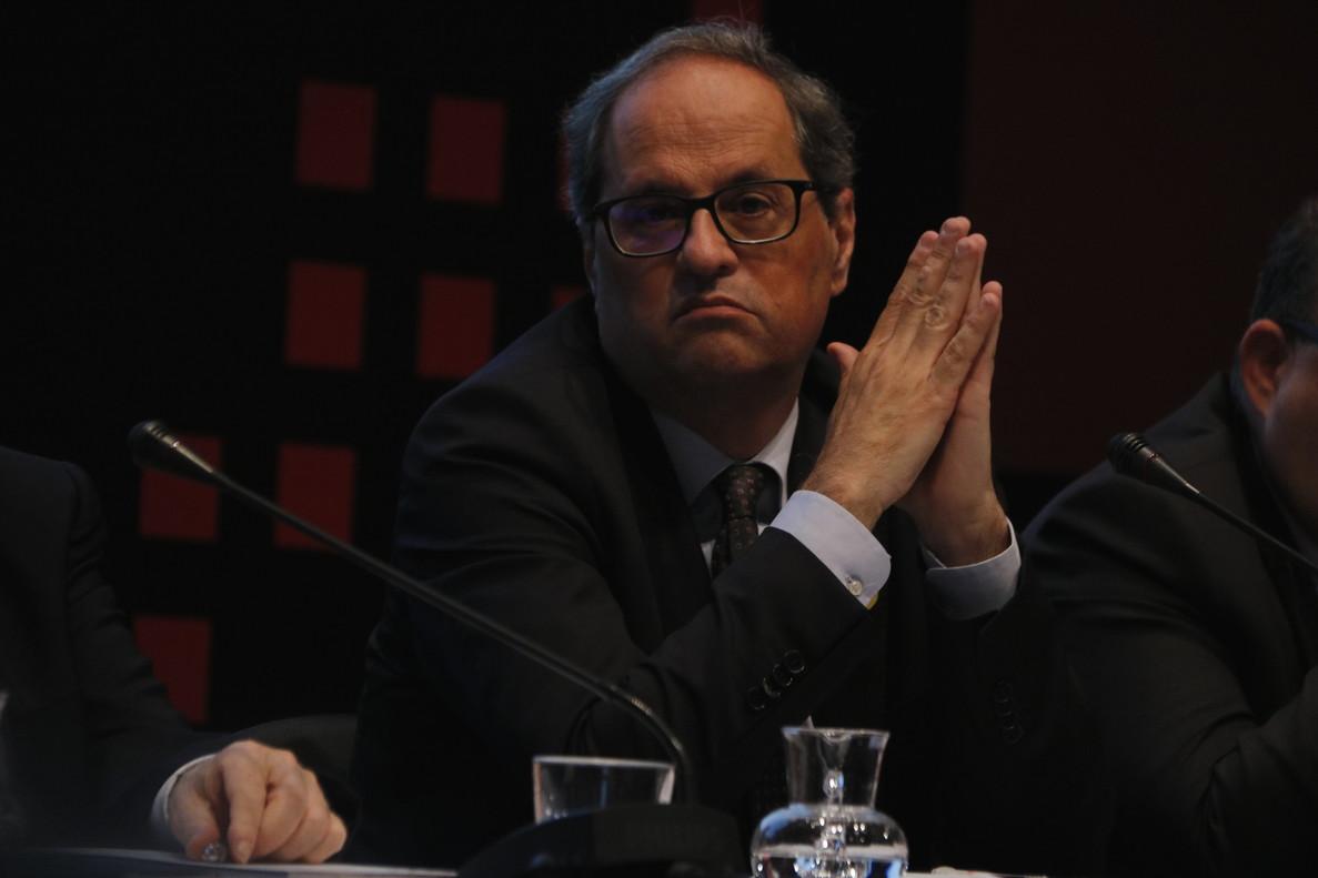 Torra denuncia la campanya de desprestigi contra Catalunya