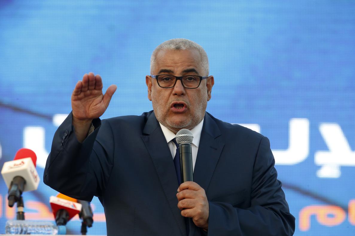 El ya exprimer ministro de Marruecos Abdelilá Benkirán.