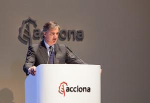 El director ejecutivo de Acciona, José Manuel Entrecanales.