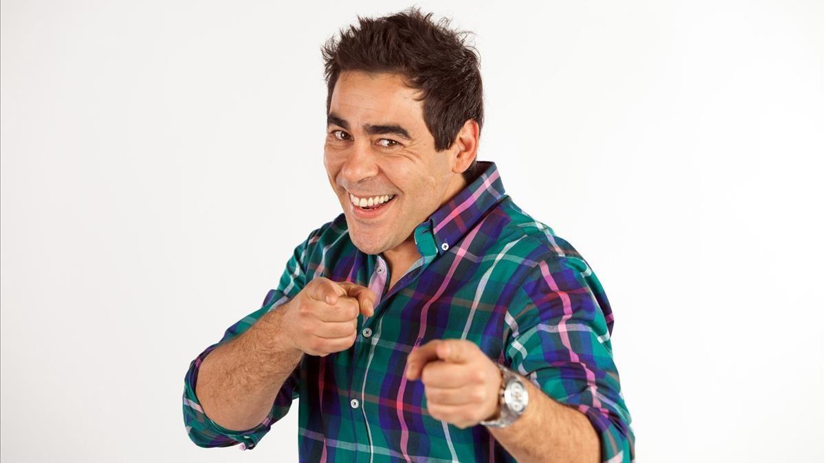 El actor Pablo Chiapella, el Cuqui de 'La que se avecina'.
