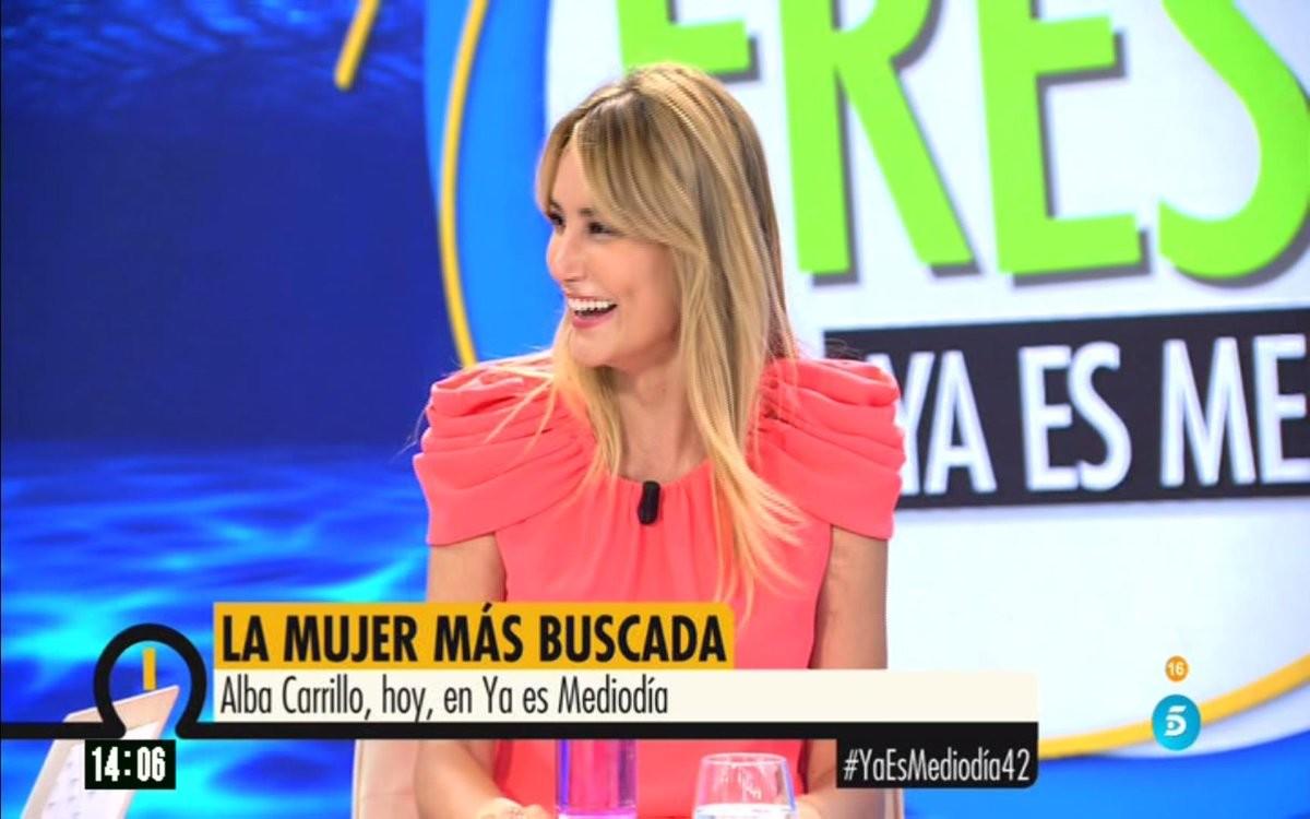 'Ya es mediodía' ficha a Alba Carillo para mejorar su audiencia