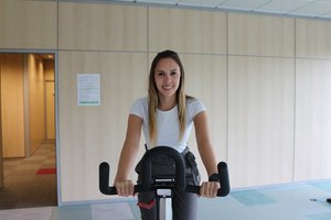 Alejandra Carrillo, finalista en Go Green in the City.