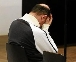 Alejandro Martínez Singul, durante un juicio en junio de este año.