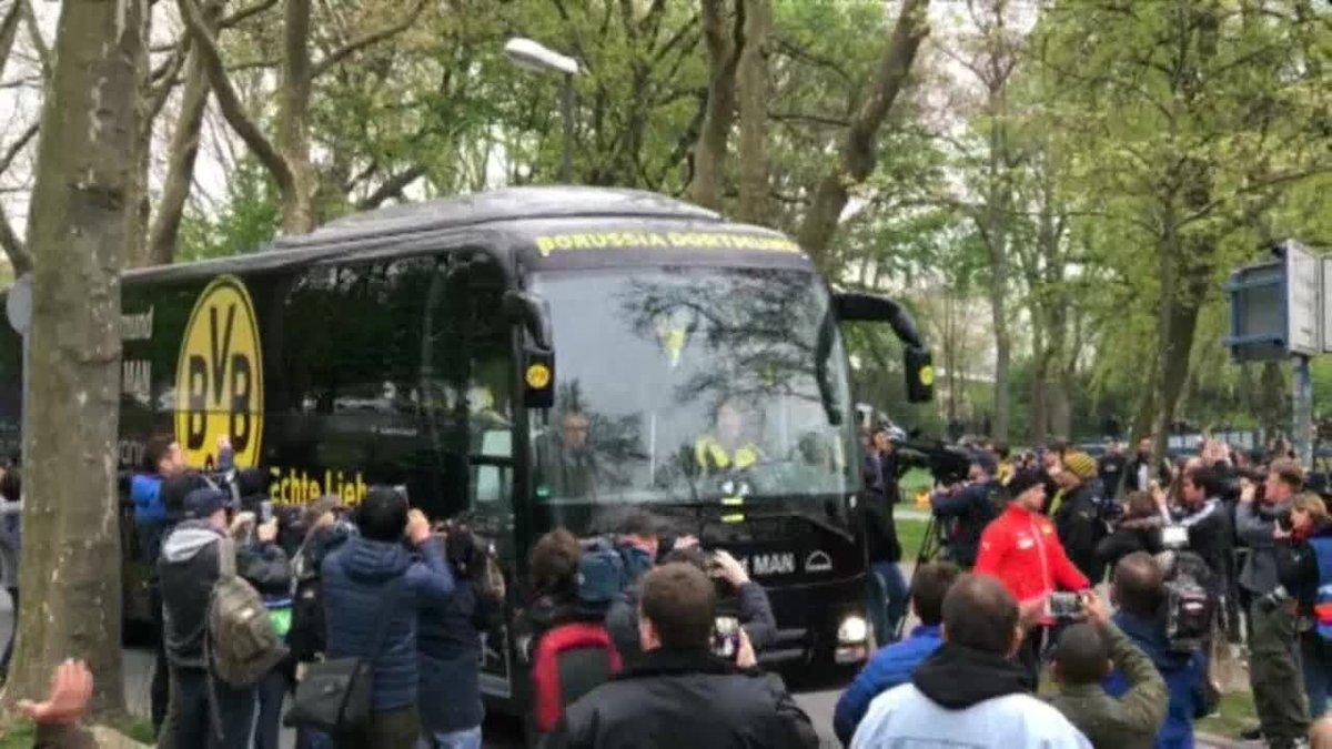 Alemania condena a 14 años al autor del atentado contra autobús del Borussia de Dortmund.
