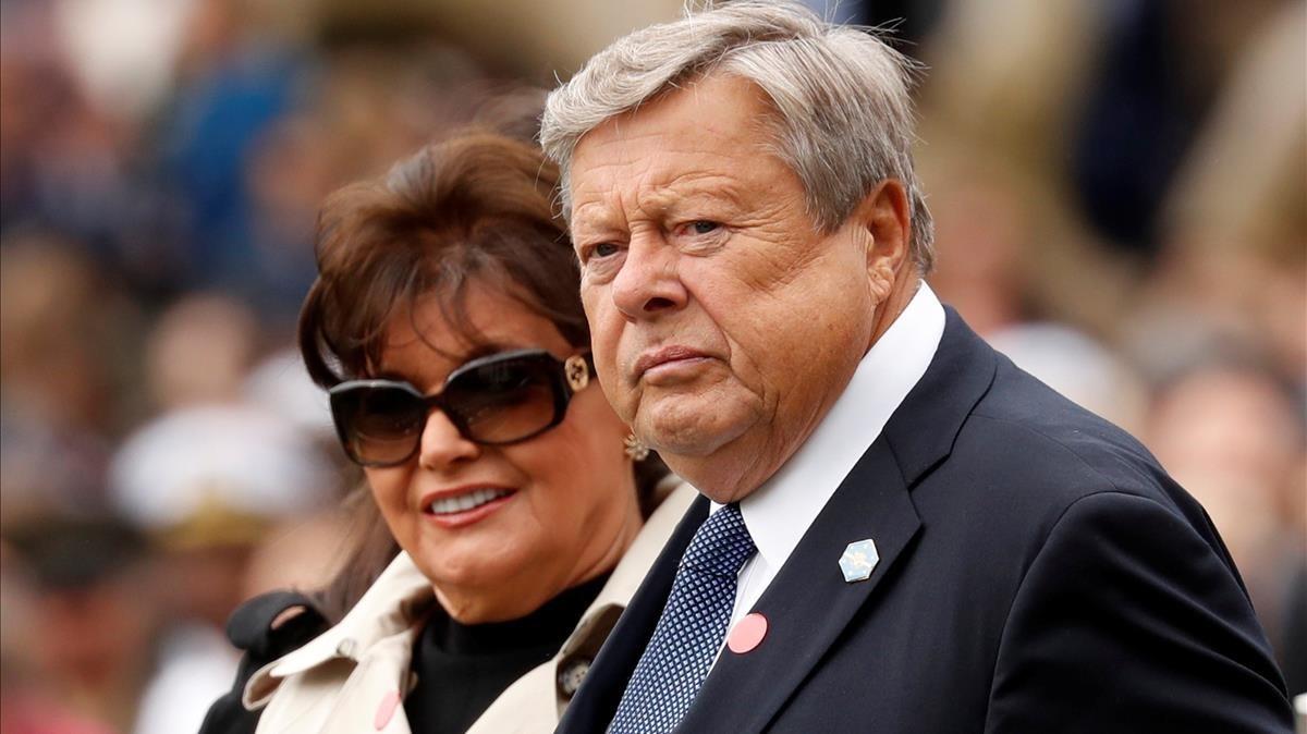 Amalija y Viktor Knavs, los padres de Melania Trump