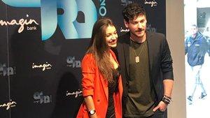 Ana Guerra y Cepeda, en la presentación de la gira ImaginBank 2019