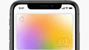 LaApple Card en un iPhone.