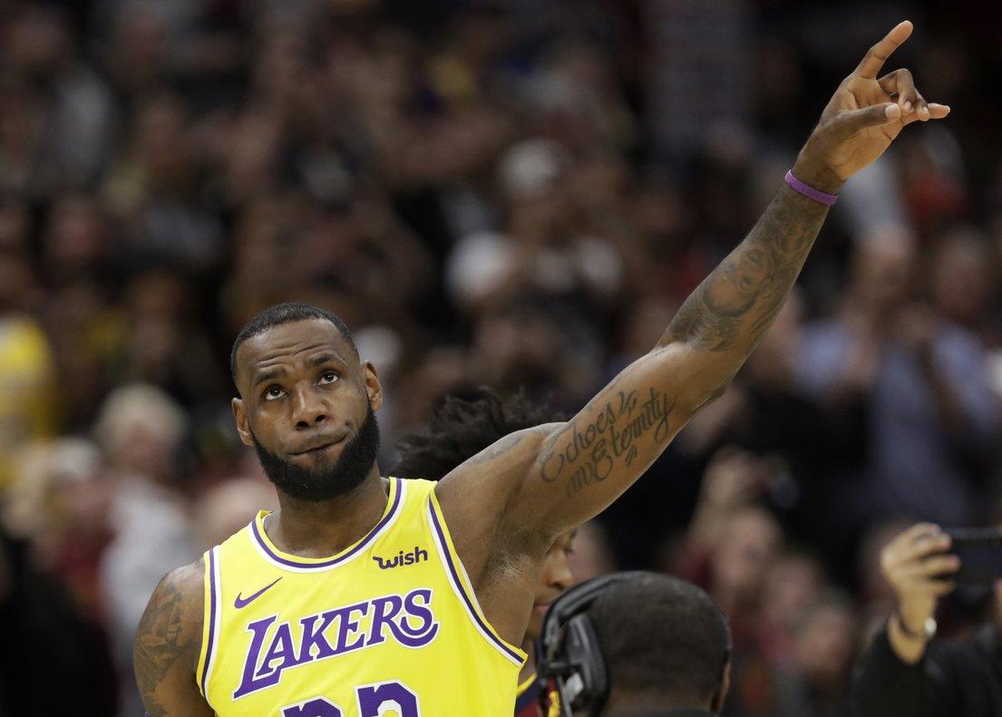 Ahora los Lakers vuelven a casa para enfrentarse el viernes a los Utah Jazz.