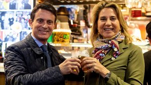 Manuel Valls y Susana Gallardo, el pasado mes de mayo.