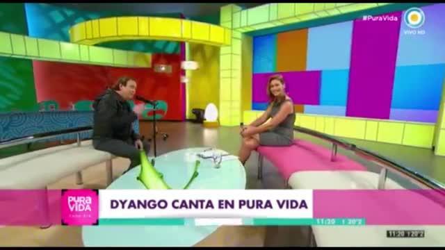 La accidentada actuación de Dyango en la televisión argentina