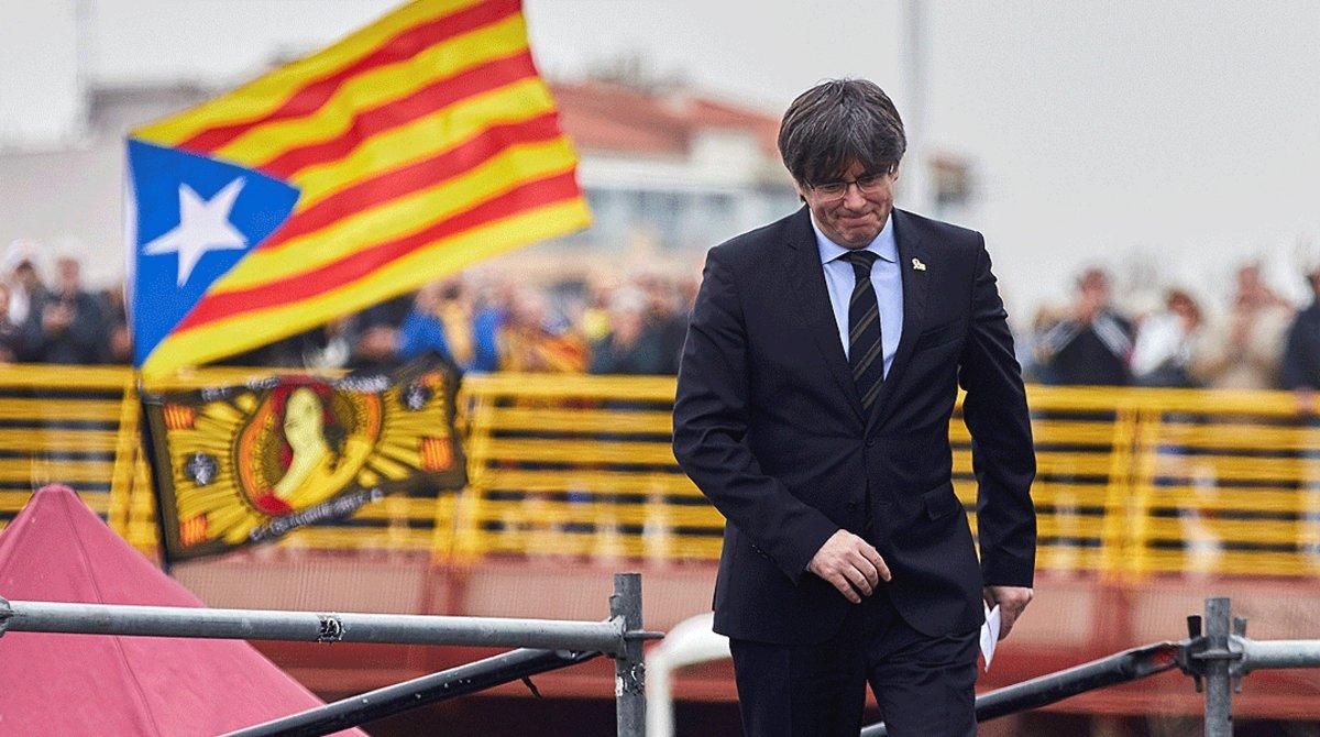 Reestreno de Puigdemont con aviso de ruptura del PDECat