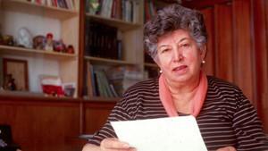 Chicha Mariani, una de las fundadoras de las Abuelas de Plaza de Mayo.