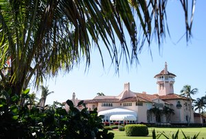 El club Mar-a-Lago en Palm Beach Florida, propiedad de Donald Trump.