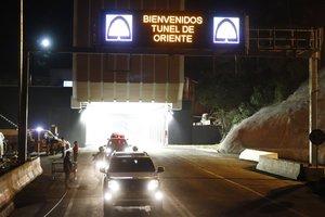 El Tunel de Oriente de Colombia,el más largo de America Latina.