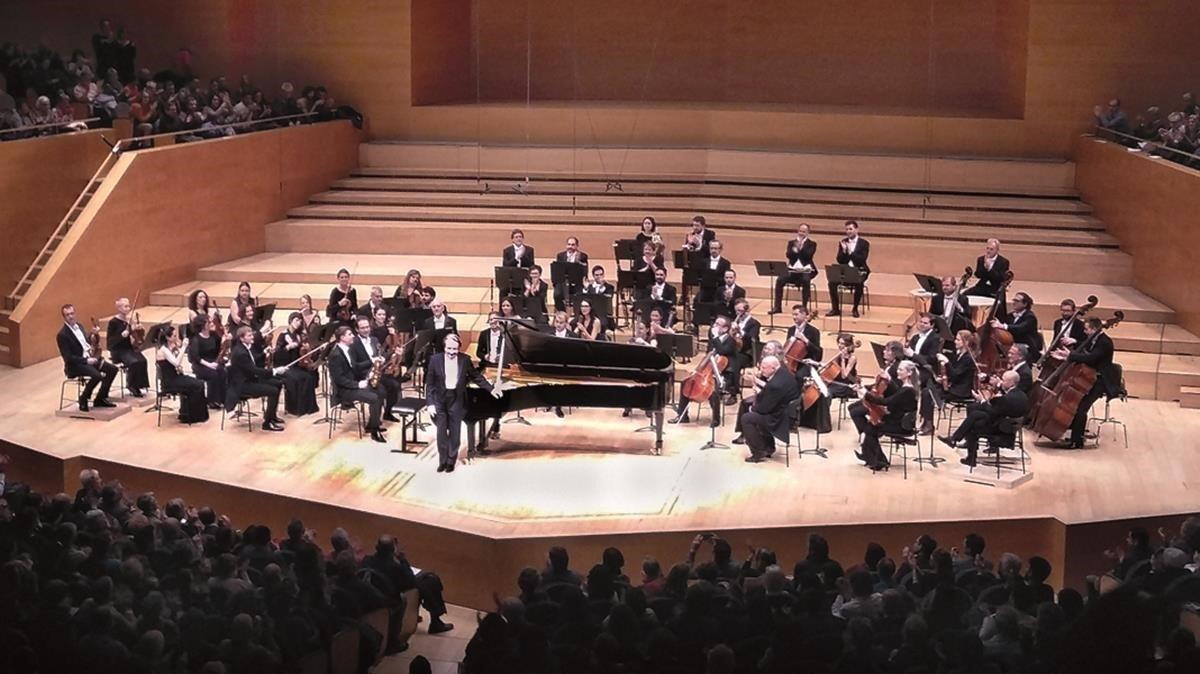 Concierto de Rudolf Buchbinder con la OBC en el Auditori