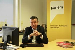 El consejero delegado de Parlem, Ernest Pérez-Mas.
