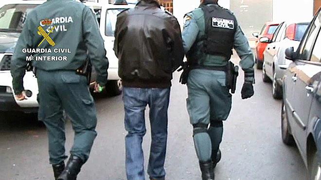 Desarticulada en Ciudad Real una banda internacional dedicada al narcotráfico.