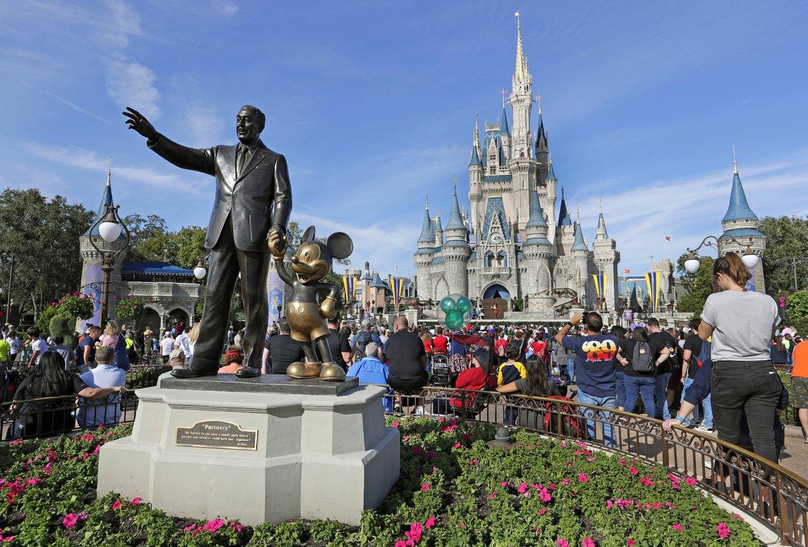 El icónico parque temático de Disney World.