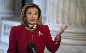 Nancy Pelosi, presidenta de la Cámara de Representantes de los EEUU.