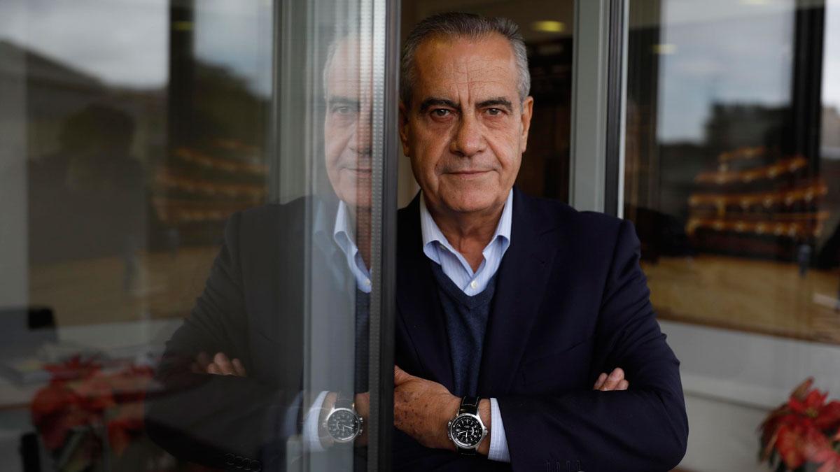 Entrevista con Celestino Corbacho, número tres en la candidatura de Manuel Valls.