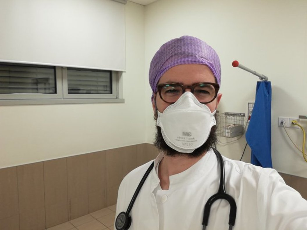 El doctor español Pau Mateo.