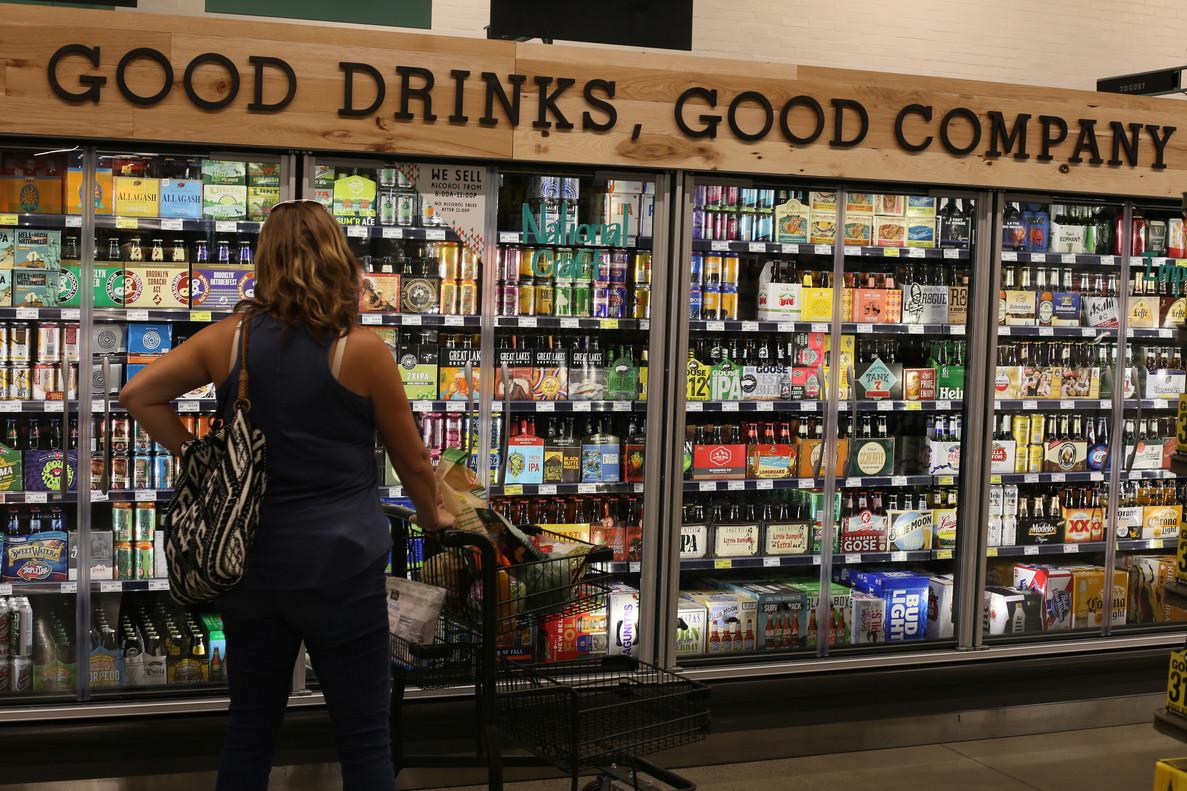 Establecimiento de Whole Foods, en Washington.