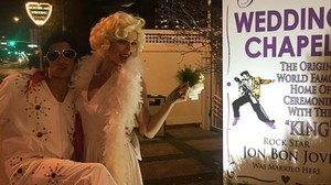 Eva González y Cayetano Rivera se casan se vuelven a casar en Las Vegas.