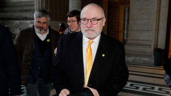 Lluís Puig llega a Bruselas para enfrentarse a la tercera euroorden por el 1-O.