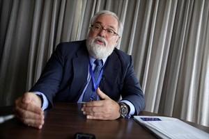 El exministro Miguel Arias Cañete, comisario europeo de Acción para el Clima y la Energía.