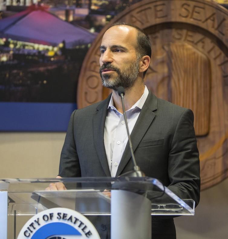 Dara Khosrowshahi, consejero delegado de Expedia y elegido nuevo CEO de Uberpor elconsejo de esta empresa.