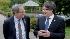 Sondeig Catalunya: Torra suspèn en la seva estrena com a president