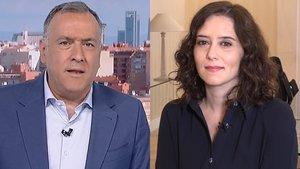 Ayuso deixa plantat Xabier Fortes a TVE: 'Tenia una entrevista en una altra cadena'