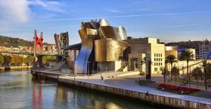 El Guggenheim de Bilbao.