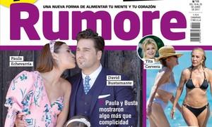 'Rumore' parla de la possible reconciliació entre Paula Echevarría i David Bustamante