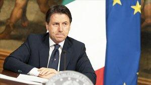 El primer ministro italiano anuncia este domingo las medidas de desconfinamiento.