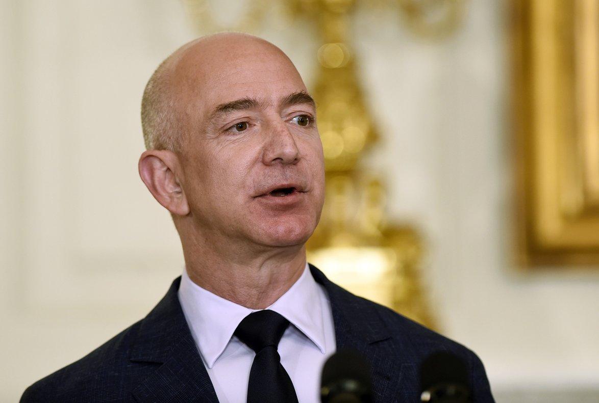 Jeff Bezos, CEO de Amazon y dueño de 'The Washington Post'.