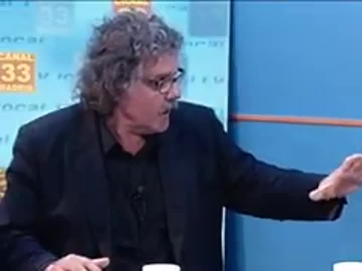 Joan Tardà, en el vídeo del 2012 en què va fer les declaracions sobre el 155 a Pablo Iglesias.