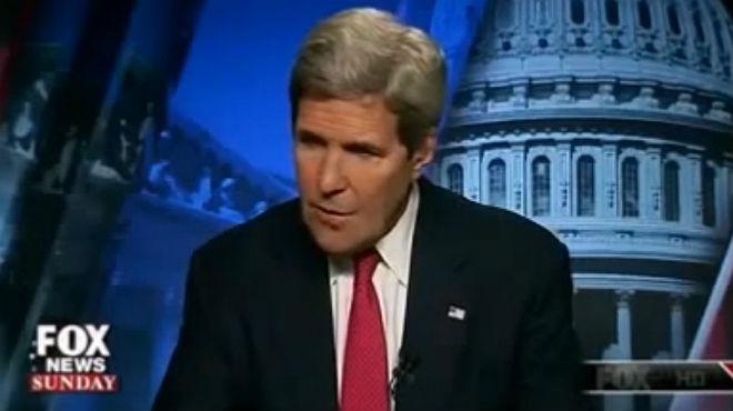 John Kerry, pillado criticando la ofensiva de Israel en Gaza