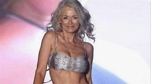 La modelo Kathy Jacobs.