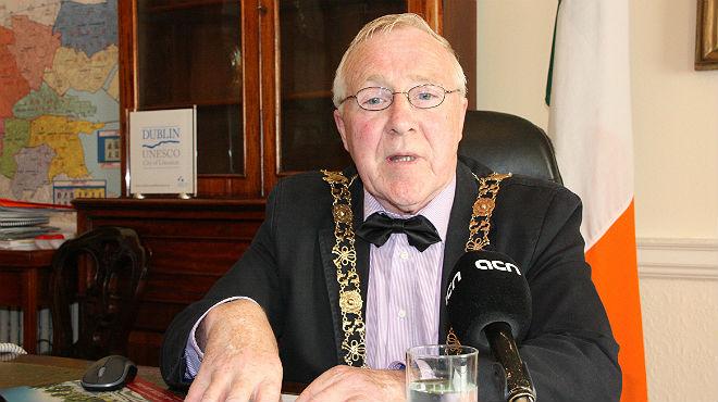 Lalcalde de Dublín mostra el seu suport al procés sobiranista.