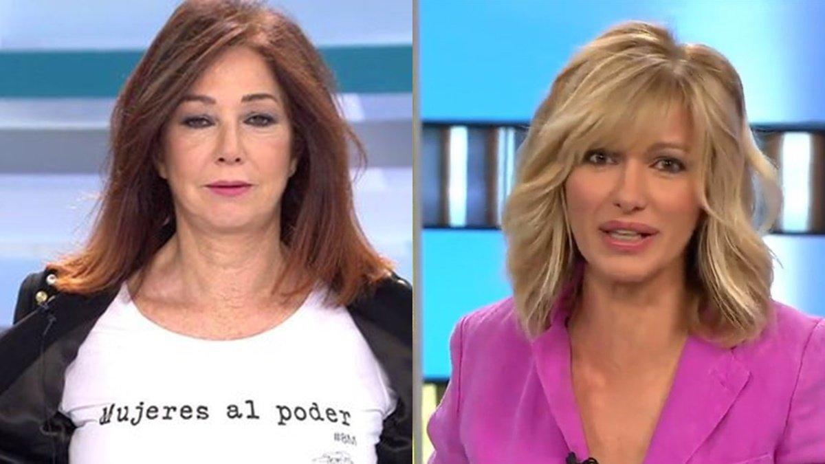 Ana Rosa y Susanna Griso no paran, pero sí hacen su propio manifiesto en el Día de la Mujer
