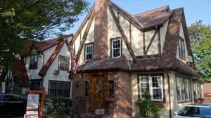 La casa en la que pasó su infancia Donald Trump.