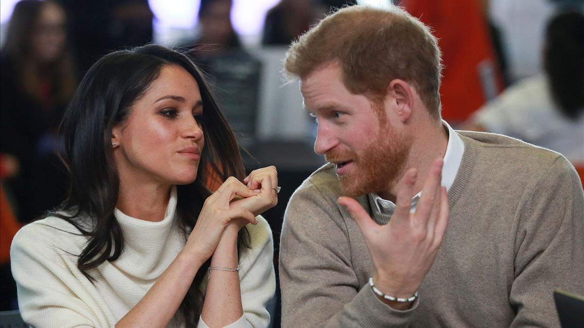 El príncipe Enrique y Meghan Markle, el pasado 8 de marzo en Birmingham.